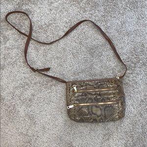 Snake skin Hobo purse